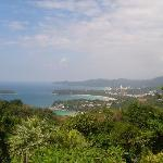 Scenery from nearby viewpoint