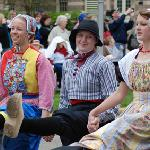 The Tulip Time Festival is held every year in early May.