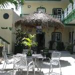 Hotel Addy`s charming courtyard
