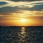 Sunset over Lake Dora