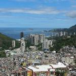  View from the top looking down at Rocinha favela
