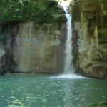 The zipline waterfall