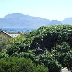 Balcony view towards Table Mountain