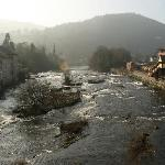 River Dee from Llangollen