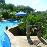 Our inviting pool!