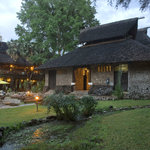the exterior of Sarova Shaba Game Lodge