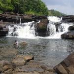 Waterfall end of dry season (swim)