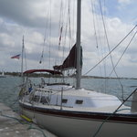 Octavio&#39;s 34 ft sailboat