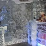 The hotel has an entertainment center with a special Ice Chamber