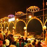 An evening aarti at the ghats