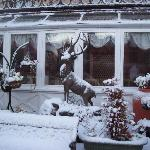  Strathpeffer hotel in the snow
