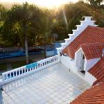 The most amazing Roof ...perfect for sunset yoga sessions