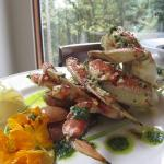 Garlic Roasted Dundeness Crab