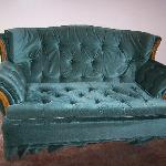 lopsided loveseat