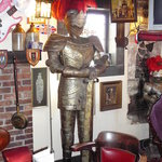Suit of Armor @ Kings Head British Pub