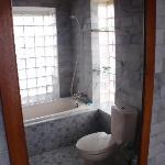 bathroom deluxe room 201