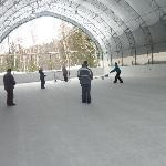  le mgadome avec patinoire