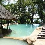 Chobe Marina Lodge pool