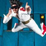 Vegas Indoor Skydiving Elvis
