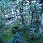 garden inside the shukubo