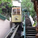 Cable car to take you to your room