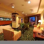 Relax in our comfortable lobby area and enjoy our home baked cookies or fresh coffee.