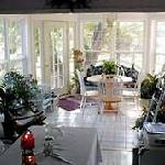 spacious sunroom where farm fresh eggs are served every morning