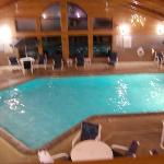 pool from second floor