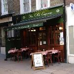 The Old Express, Shepherd's Market, across the road from 10 Curzon Street - great breakfast spot