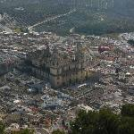 Jaen cathedral from Parador overlook