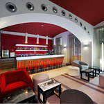 Red and Blue Design Hotel Prague Foto