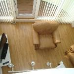  Living room from upstairs