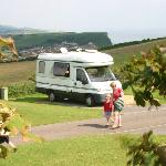 View of Lyme Bay from you Tourer or Motorhome
