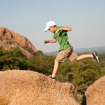 Climb Enchanted Rock, one of the largest batholiths in the U.S.