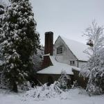 Winter, Rocky Hill House