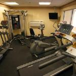 "Fitness Center featuring all ""Life Fitness"" Equipment"