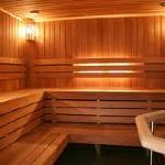 Sauna section