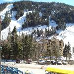  View of slope from Alpine Village parking