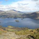  View from the top of Cat Bells!