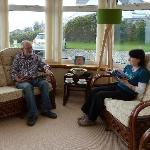 Conservatory at Rickwood B&B Portpatrick