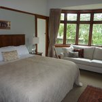 our sumptuous bedroom was also comfortable