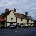 The George Pub oposite Chestnut View Spaldwick