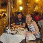 dinner at Piazza Navono