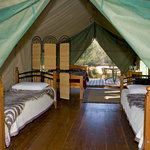 Safari tents offer the best of both worlds
