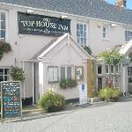 Front View of The Top House Inn