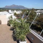  Our roof Terrace we use for sundowners and BBQ&#39;s