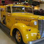 1939 Buffalo Fire App. fire truck: one of 90 pieces of apparatus in the collection.