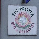 Protea B&B sign