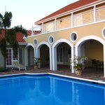 Verandah and pool