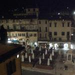 Piazza del Erbe from my room